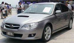 Subaru Legacy B4 sedan (Japan)