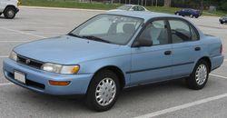 1993-1995 Corolla sedan (US)